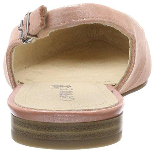 con Caviglia Cinturino Apricot Sandali 29402 650 alla Metal Donna Arancione Caprice 4qEaAw