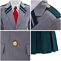 FORLADY Boku No Hero Academia Cosplay Costume Man and Women Student School Uniform