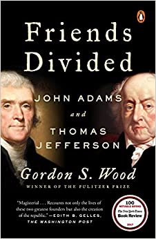 Book's Cover of Friends Divided: John Adams and Thomas Jefferson (Inglés) Tapa blanda – 18 octubre 2018