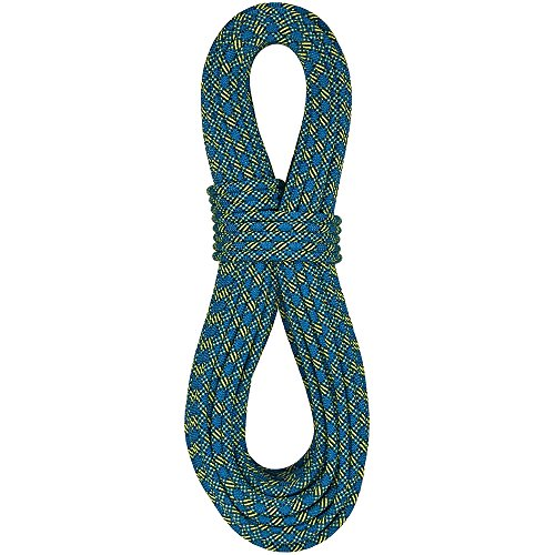 BlueWater Ropes 8.4mm Excellence Double Dry Dynamic Half Rope (Blue, 60M)