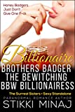 Billionaire Brothers Badger the Bewitching BBW Billionairess: The Surreal Sisters (BWWM Shapeshifter Paranormal Menage Pregnancy Romance)