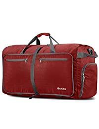 4a5f5d8d4a5 Gonex 100L Foldable Travel Duffel Bag, Over-Sized Luggage Travel Duffle  Water Repellent