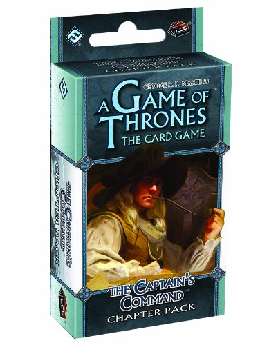 A Game of Thrones: The Card Game - The Captain's Command Chapter Pack (Game Of Thrones Card Game Greyjoy Deck)