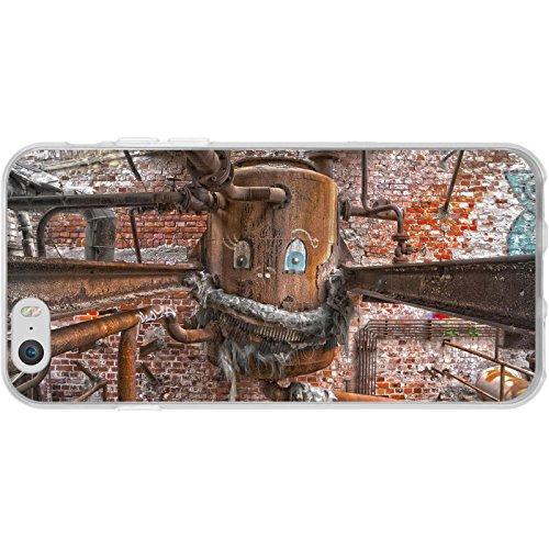 PhoneNatic Case für Apple iPhone 6 Plus / 6s Plus Silikon-Hülle Urban M1 Case iPhone 6 Plus / 6s Plus Tasche + 2 Schutzfolien