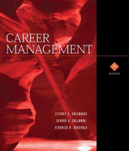 greenhaus callanan godshalk career management pdf