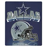 "Brand New, Dallas Cowboys NFL Blanket 50"" x 60"" Fleece Throw Blanket by The Northwest Company. 100% Polyester"