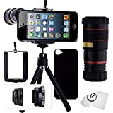 CamKix Lens Kit compatible with Apple iPhone SE / 5 / 5S including 8x Telephoto