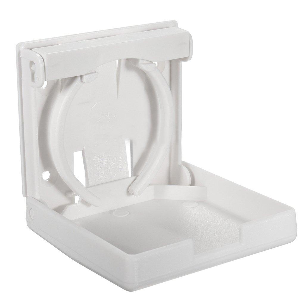 Sharplace Set De 2x Porte Gobelet Rabattable Support Tasse Pour Bateau Marine Caravane Auto Pi/èce D/étach/ée