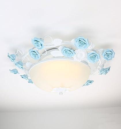Lámparas Colgantes Chica Princesa Niños Habitación Flores ...