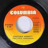 Gregory Abbott 45 RPM Wait Until Tomorrow / Shake You Down
