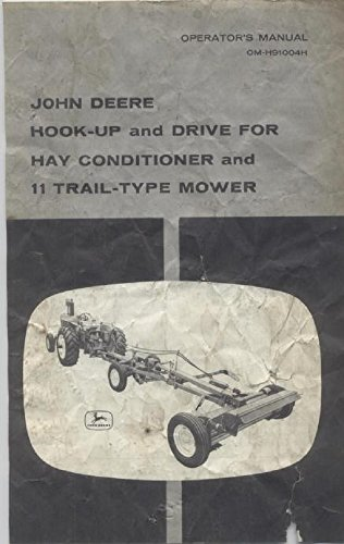 John Deere Hook-Up & Drive For Hay Conditioner And 11 Trail Type Mower - 1956
