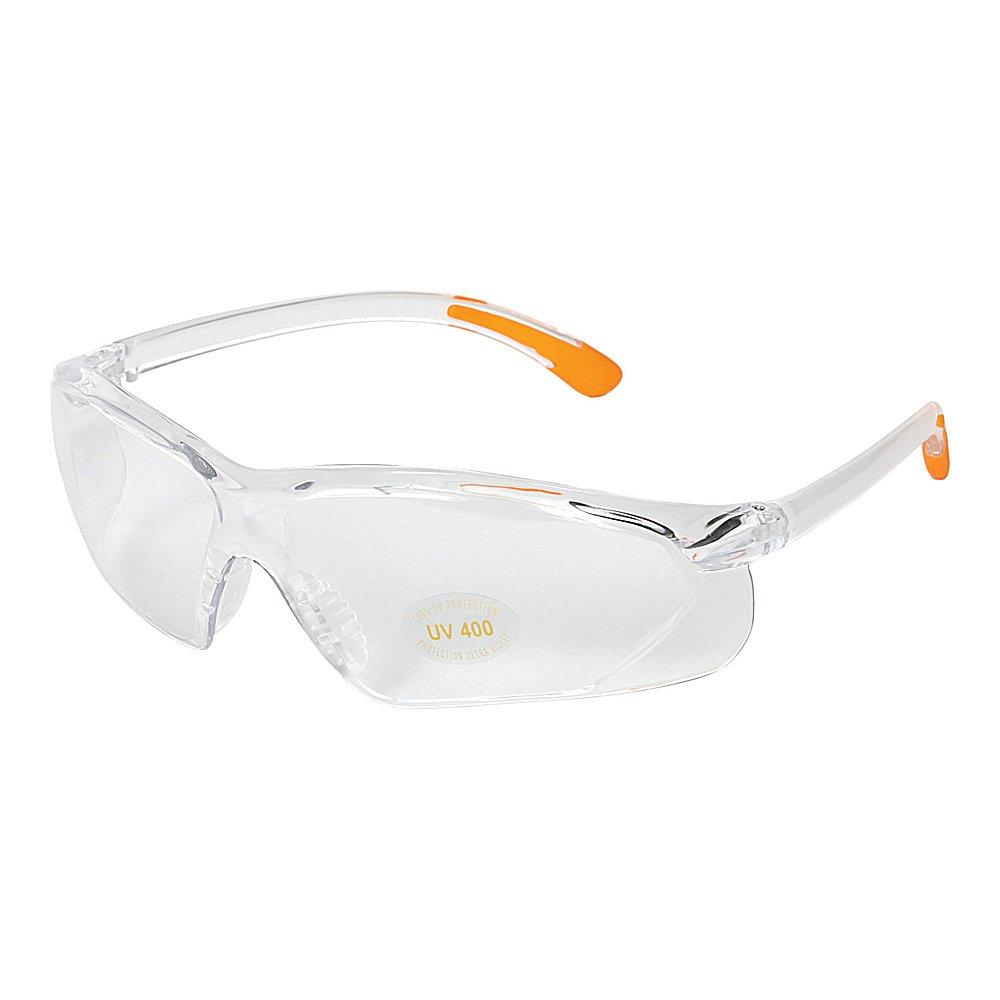 f21df395eaf Allen factor shooting glasses clear frame with orange tips clear lens  sports outdoors jpg 1000x1000 Orange