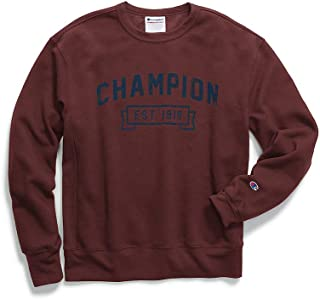 Champion Mens Heritage Fleece Sweatshirt Sweatshirt Champion Men's Athletic S1230