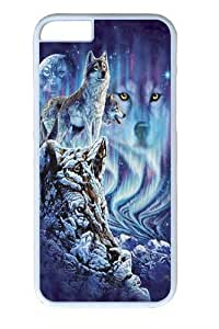 Find 10 Wolves Polycarbonate Hard Case Cover for iphone 6plus 5.5 inch WhiteKimberly Kurzendoerfer