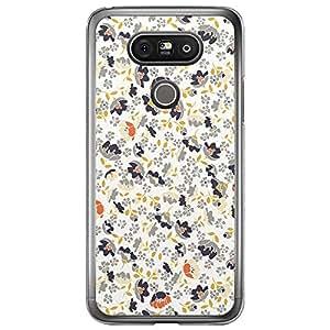 Loud Universe LG G5 Floral Decorative Printed Transparent Edge Case - Multi Color