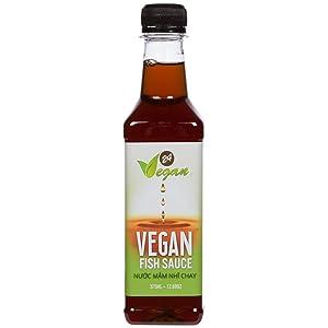 Vegan Fish Sauce by 24Vegan | 12.68fl oz (375ml) | Vegetarian & Vegan | Vietnamese Made in Australia | Umami