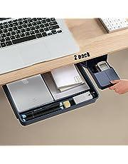 $27 » Desk Drawer Organizer-Under Desk Drawer for File /Paper/Pencils/iPad Etc
