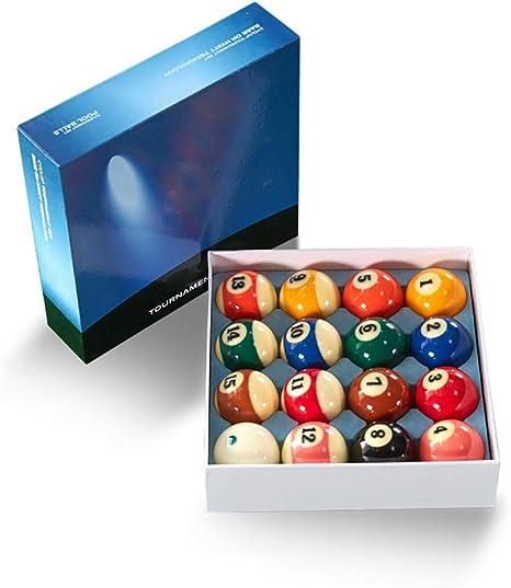 WXS Billar Pool Balls, Snooker Game Balls Juego Completo Accesorio Profesional para Home Club Playing Supplies: Amazon.es: Deportes y aire libre