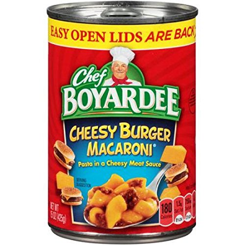 chef boyardee cheesy burger - 3