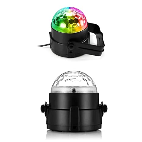 Disco light Colors RGB Stage Lighting Proyector Control Giratorio ...