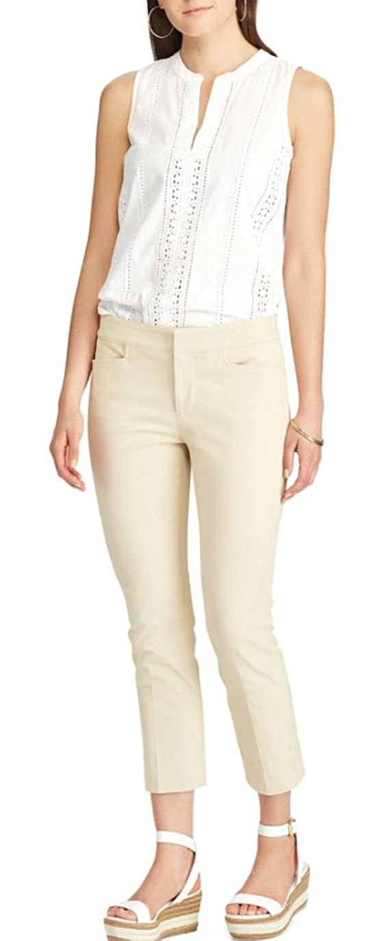 9c402a042775c Chaps Womens Slimming Fit Bi-Stretch Twill Capris at Amazon Women s  Clothing store
