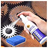 ErYao Metal Surface Chrome Paint Car Maintenance Iron Powder Cleaning Rust Remover,Heavy Duty Rust & Corrosion Inhibitor Aerosol Spray, Long Term Rust Blocker, Metal Anti-Rust (Multicolor)