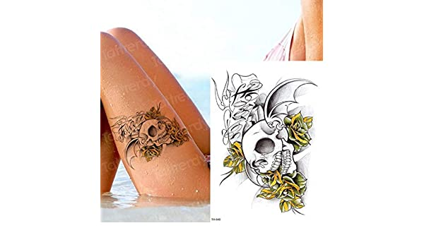 3pcs-Tatuaje Temporal Animal Lion Head Tattoo Sticker Arte ...