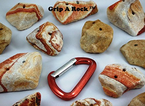 10 Rock Climbing Hand Holds, Rock Climbing Holds, Rock Holds, Climbing Wall Holds
