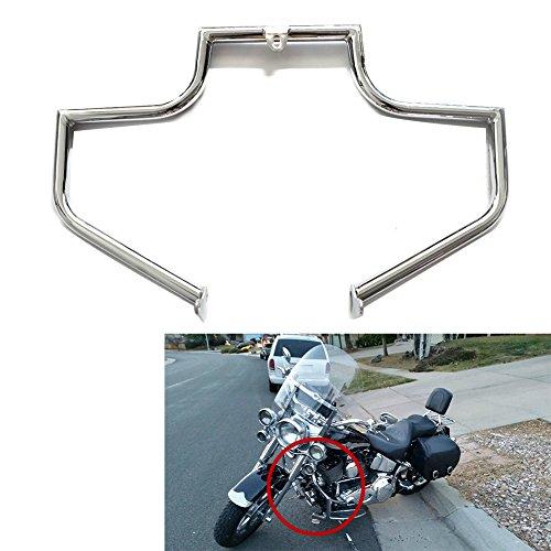 (Engine Guard Crash Bar Highway For Harley FLSTN FLSTNI Softail Deluxe FLSTF FLSTFI Fat Boy)