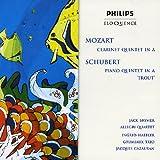 Schubert: Pno QNT in a (Trout) / Mozart: Clar QNT
