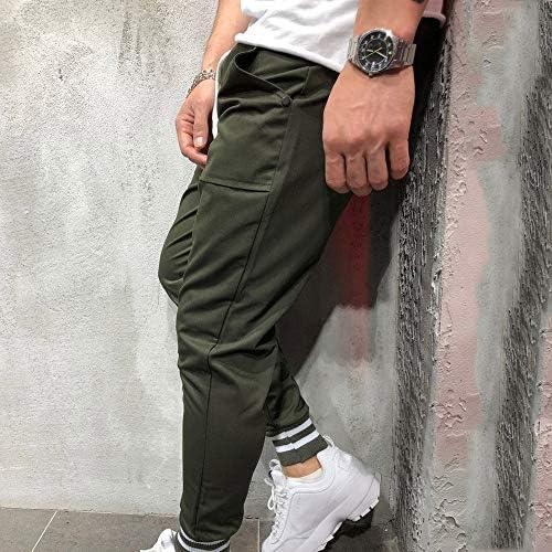 Amiley Men Sweatpants,Mens Jogging Outdoor Pants Drawstring Waistband Solid Casual Open Bottom Sweatpants