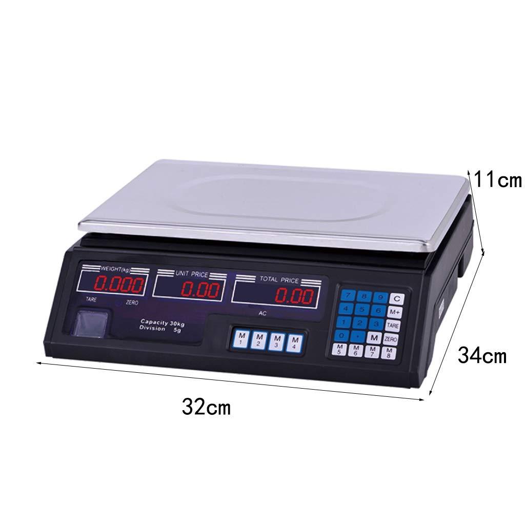 WCX 30kg Capacidad Industria Escala Electrónica Comercial ...