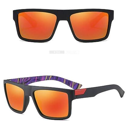 FUBULECY Gafas de Sol polarizadas de los Hombres para Conducir Pesca Golf Béisbol Ciclismo UV400 (