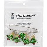 Christmas Tree Stitch Markers-5/Pkg