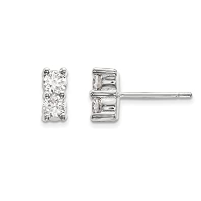 185747dcb4d4b Amazon.com: Two Stone Collection Earrings Ball, Button & Stud ...