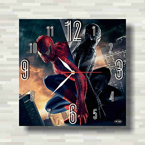 Costume 2099 Amazing The Spider Man (Spiderman 11.8'' Handmade Wall Clock - Get unique décor for home or office – Best gift ideas for kids, friends, parents and your soul)