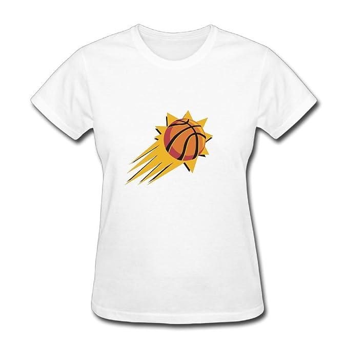 Las mujeres de la NBA Phoenix Suns Logo T camisas: Amazon.es: Ropa y accesorios