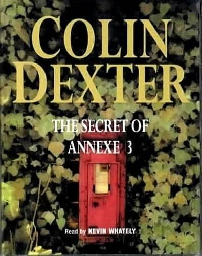 Read Online The Secret of Annexe 3 ebook