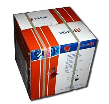 HomeVision tecnología rg59211000b tygerwire 1000-ft RG59 ...