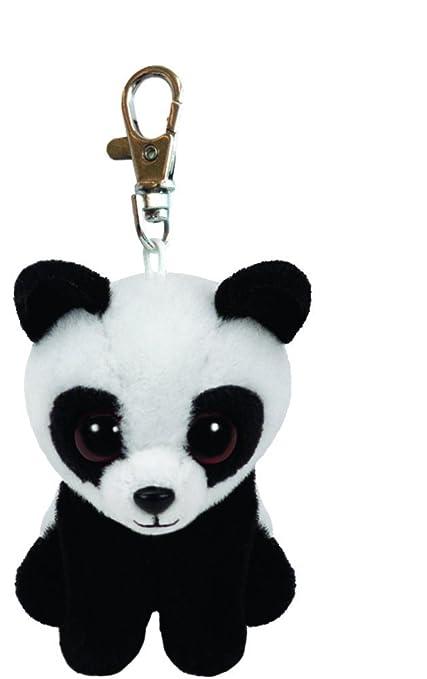 Ty - Ty 1469163 . Llavero de peluche Baboo, el panda 8,5 cm ...