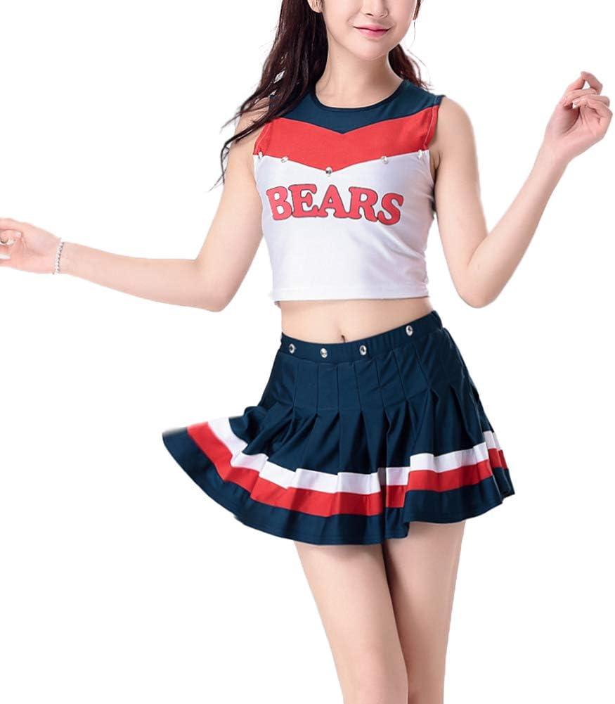 uirend Disfraces Cheerleading Ropa Mujer - Uniformes Cheerleader ...