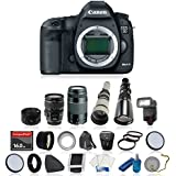 Canon EOS 5D Mark III Digital SLR Camera Bundle with Canon EF 28-135mm f/3.5-5.6 IS USM, EF 75-300mm f/4.0-5.6 III and AF Telephoto Lens and Accessory Kit (21 Items)