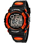 Boys Girls Summer Multi Function Outdoor Waterproof Digital Sports Wrist Watches For Age 5-13 years old