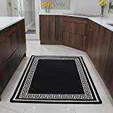 "The Rug House Affordable Black Mottled Machine Washable Slip Resistant Mat – 2'7"" x 4'11"" Review"