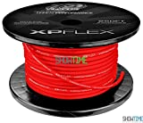 XS Power XPFLEX8RD-250 Iced Red 8 AWG Cable (735 Strands, 250' Spool)