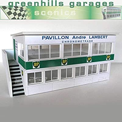 Greenhills Scalextric Slot Car Building Reims Press Box Kit 1:32 Scale: Toys & Games