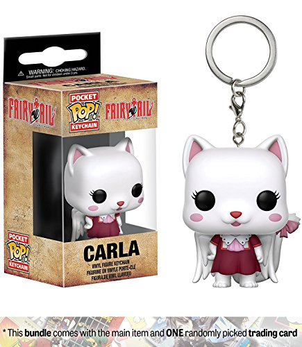Carla-Funko-Pocket-POP-x-Fairy-Tail-Mini-Figural-Keychain-1-Anime-Themed-Trading-Card-Bundle-21169