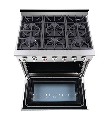 """NXR 36"""" 5.5 cu.ft. Professional Range Oven, Stainless"""