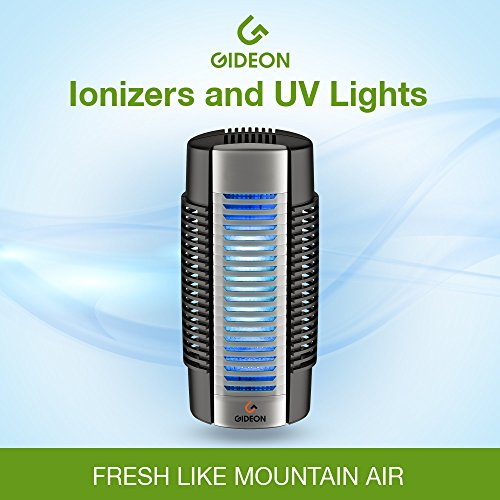 Electronic Plug In Air Purifier Uv Lights Stainless Steel