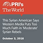 This Syrian American Says Western Media Puts Too Much Faith in 'Moderate' Syrian Rebels |  PRI's The World